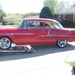 1955 Chevy Post