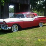 1957 Ford Retractable Top